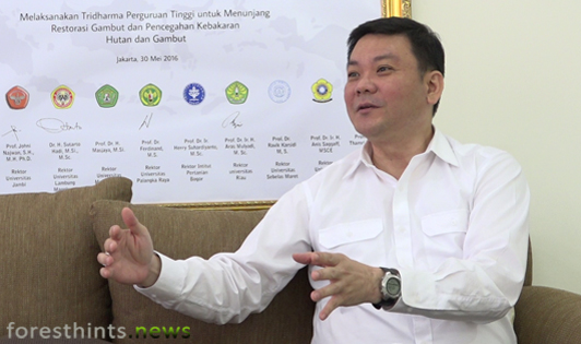 Peat Agency Chief calls APP an uncooperative business group